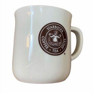 Starbucks Logo Brown Coffee Tea Spices Mug